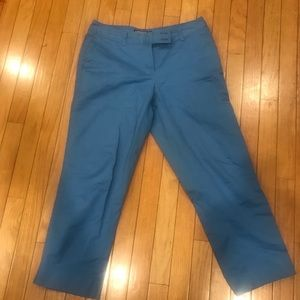 Size 6 women vineyard vines pants blue